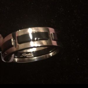 Other - Men's size 12 titanium and onyx ring